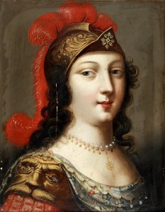 Queen Christina as Minerva Unknown artist, 1700s
